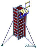 Универсальная опалубка колонн