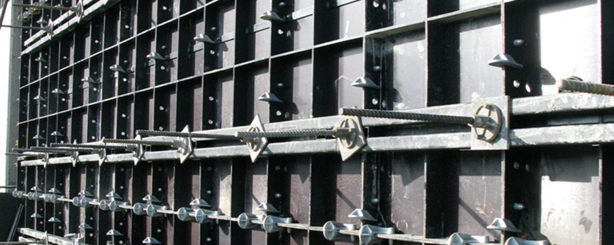 Мелкощитовая опалубка Vertex для возведения монолитных стен и колонн
